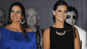 Mónica Sánchez y Karina Calmet