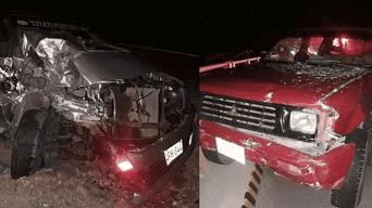Excandidato Richard Hancco protagonizó accidente en a vía Juliaca-Puno.