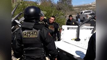 Policías fueron evacuados junto a personal civil a hospital de EsSalud