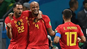 Bélgica ganó por 2-1 a Suiza en la UEFA Nations League.