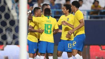 Brasil le ganó 2-0 a Arabia Saudita con asistencias de Neymar.