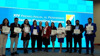 Por tercer año consecutivo premian a La República en concurso periodístico