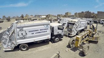 Abandono. Solo tres de las diez compactadoras participan de la recolección de basura. Según MDJLO, dos se encuentran totalmente inoperativas.