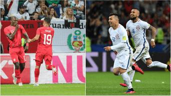 Perú fue superior y le encajó tres goles a Chile  en amistoso por Fecha FIFA   RESUMEN   GOLES   VIDEO
