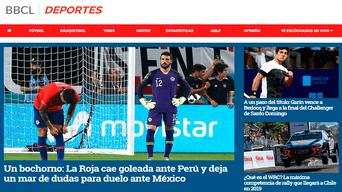 La prensa chilena tuvo críticas despiadadas tras el Perú vs Chile.