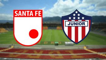 Santa Fe vs. Junior ENVIVO ONLINE EN DIRECTO vía RCN, Win Sports por la jornada 14 de la Liga Águila