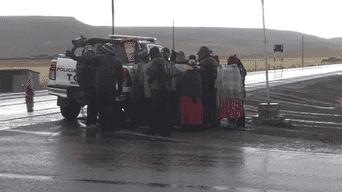 En Puno arrollan a poblador que caminaba ebrio