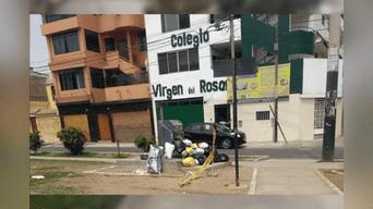 Callao: basura continúa en calles de Bellavista