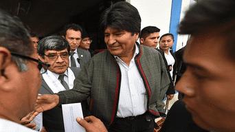 Moquegua: Evo Morales visita puerto de Ilo para verificar su capacidad operativa