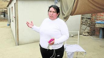 María Isabel Salvio Gómez (43) salvó de morir.