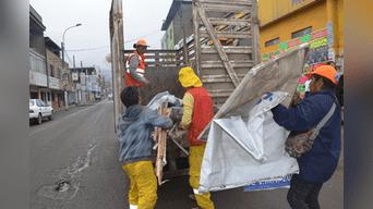 VMT: municipio retiró propaganda electoral de calles y avenidas