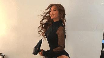 Instagram: Thalía seduce al mostrar de más en diminuto y ajustada ropa de gym