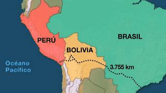Conoce detalles sobre el Tren Biocéanico que unirá Perú, Bolivia y Brasil. Foto: Rtve.