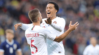 Portugal derrotó por 3-1 a Escocia en Fecha FIFA 2018.