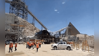 Planta de ampliación de mina Toquepala en Tacna funcionará en 2019.