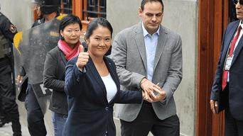 Keiko Fujimori podría enfrentar 36 meses de prisión preventiva por el caso Cocteles. Foto: Javier Quispe