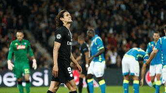 PSG rescató un empate 1-1 ante Napoli por la Champions League ... 36ede96f26347