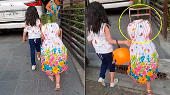 Halloween 2018 Nina Sin Cabeza Camina Por Las Calles De Filipinas - Disfraces-sin-cabeza