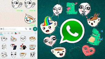 como mandar stickers en whatsapp