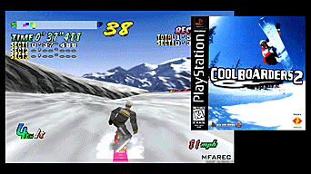 Cool Boarders 2 está incluido en PlayStation Classic