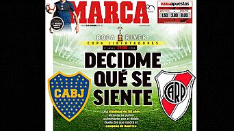 Boca Juniors vs River Plate: portadas en el mundo sobre la final de la Copa Libertadores 2018