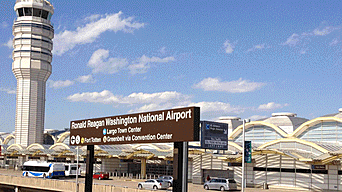 10. Aeropuerto Ronald Reagan Washington