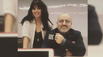 Alan García, Carla García, Beto Ortiz