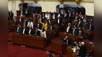 Bancadas opositoras a Fuerza popular reclaman por la pronta aprobación del proyecto de ley. Foto: Melissa Merino