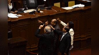 Congresistas de Nuevo Perú y Frente Amplio reclaman por la pronta aprobación del proyecto de ley. Foto. Melissa Merino