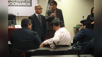 Edwin Oviedo en audiencia que se desarrolló en edificio Zavala. Foto: Jhonel Rodriguez.