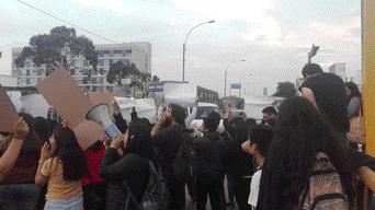 PUCP, protesta