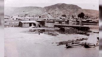 Inundación parte baja de Puno 1961