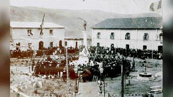 Inauguración de Parque Pino 1901