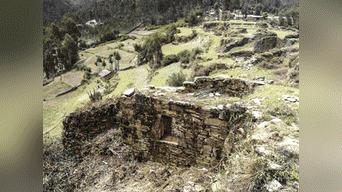 Ruinas de Nunash, ubicado en el distrito de Pachas, provincia de Dos de Mayo, departamento de Huánuco. Foto: Arkeodron de las aéreas