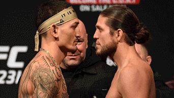 Max Holloway vs Brian Ortega