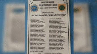 El reconocido juez asistió a la ceremonia de graduación de egresados de Derecho.