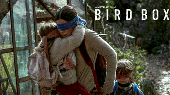 Netflix, Bird Box, Sandra Bullock, A Ciegas