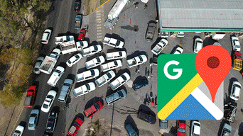 Google Maps gasolina