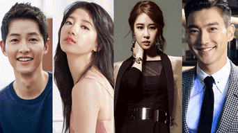 Dramas coreanos, Choi Siwon, Lee Seung Gi, Suzy, Song Joong Ki