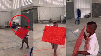 Facebook video viral: niño utiliza ley física para volar su avioncito y deja boquiabiertos a miles