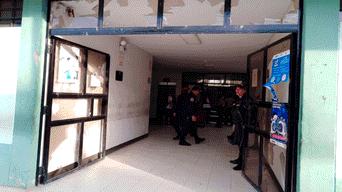 Violencia reinó en Comisaría de Tacalá.
