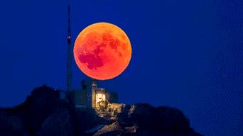 Super Luna Sangre Lobo