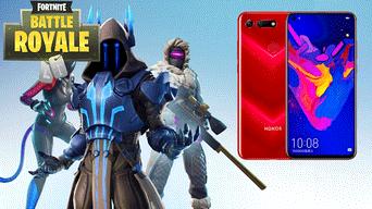 usuarios que compren el smartphone honor view 20 obtendran la skin exclusiva honor guard en fortnite - honor view 20 fortnite skin