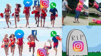 Facebook viral, Instagram