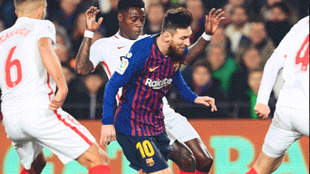 Barcelona vs Sevilla en vivo hoy, Copa del Rey 2019, Lionel Messi, DirecTV Sports, ESPN, beIN Sports, SKY Sports, fútbol español, Barcelona vs Sevilla, Primera División Fútbol España, FC Barcelona, Sevilla FC, Roja Directa.