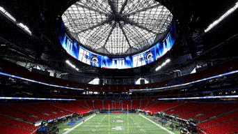 Super Bowl LIII, show time super bowl 2019, Mercedes Benz Stadium, Los Angeles Rams vs New England Patriots, Campeonato de la NFL