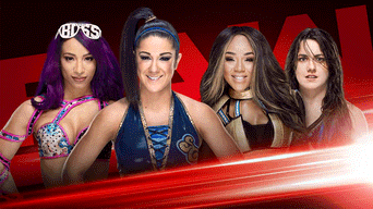 Sasha Banks t Bayley vs Alicia Fox y Nikki Cross