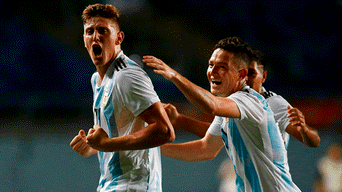 Youtube: Venezuela vs Argentina Sub 20 EN VIVO: VIDEO GOL de Adolfo Gaich para su doblete en El Teniente de Rancagua por Sudamericano Chile 2019 | yt