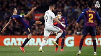 Barcelona empató con el Real Madrid 1-1 en semifinales de Copa del ... 1debfd0df32