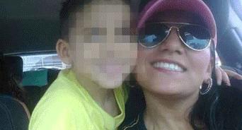 La madre y su hijo, trágicamente fallecidos este jueves.
